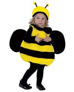 Bienen Kostüm mit Flügel für Kleinkinder