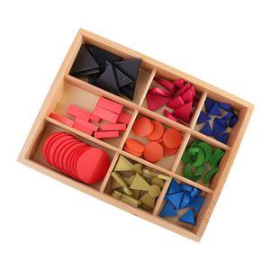 Montessori Grundlegende Hölzerne Grammatik Symbole W / Box Für Kinder
