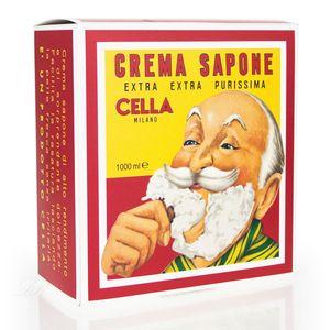 Cella Rasierseife Crema Sapone 1000 g Extra Purissima