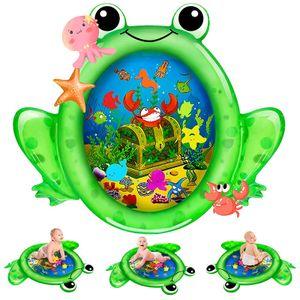 Wassermatte ,Baby Wasserspielmatte BPA-frei Groß Aufblasbare Spielmatte Baby Spielzeug
