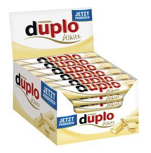 Ferrero Duplo Weiß Einzelriegel 40er Big-Pack (40 x 18g Riegel)