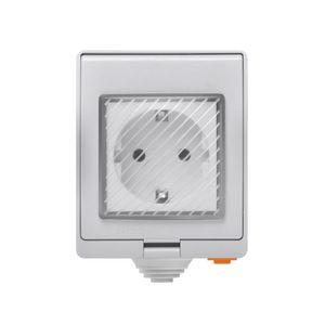 SONOFF® S55 Wasserdichter WIFI Smart Socket Switch Mehrfachversion Wifi Socket funktioniert mit Alexa Google Home - DE Plug