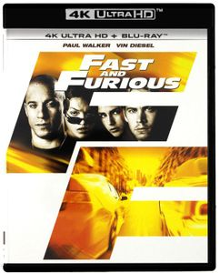 Fast & Furious [BLU-RAY 4K+BLU-RAY]