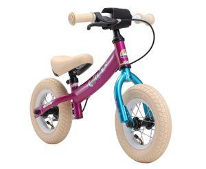 BIKESTAR Kinder Laufrad ab 2 - 3 Jahre   10 Zoll Sport Lauflernrad   Berry Türkis