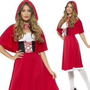 Smiffy's - Rotkäppchen-Kostüm - Rot - L