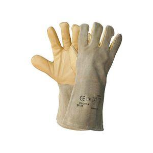 TEXXOR 1207 Schweißer-Schutzhandschuhe VESUV mit durchgehendem Baumwollfutter Größe 10 Größe:10