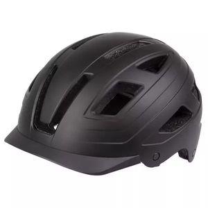 M-Wave fahrradhelm Urban mit leichtem ABS matt schwarz mt 55-58 cm