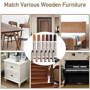 Reparatursatz Wachsstäbchen Marker Set mit 13 Reparaturflecken Kratzer für Möbel DOY90726010
