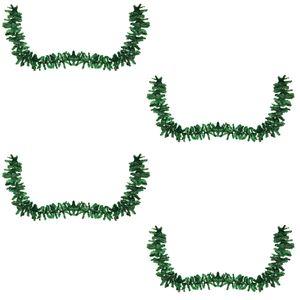 4 Stück Tannengirlande / Künstliche Weihnachtsgirlande  270cm