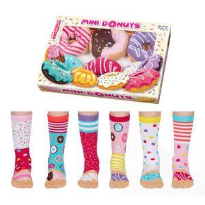 Mini Donuts Oddsocks Socken in 30,5-38,5 im 6er Set