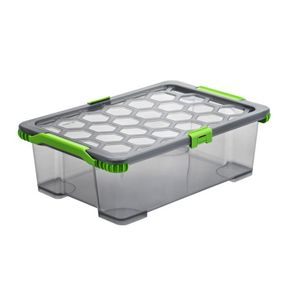 Aufbewahrungsbox EVO TOTAL 30 l, Farbe:Anthrazit & Grün