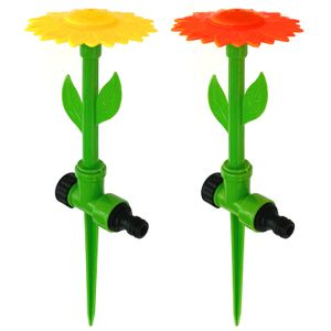 2er Set Blumen Wassersprenger Rasensprenger Wassersprinkler Gartensprenger Wasserspielzeug Sprühregner Garten Bewässerung Sprinkler