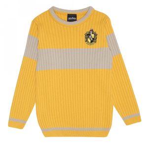 Harry Potter - Quidditch Pullover für Jungen PG647 (152) (Gelb)