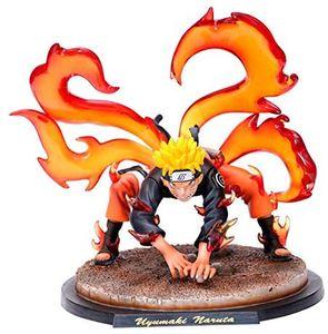 Geschenke Männer Kinder Anime Naruto Figur Naruto Dämonenfuchs Form Pop Naruto Charakterfigur PVC Statue Figur Statuen Figur Naruto charakterförmige Figuren 20 cm