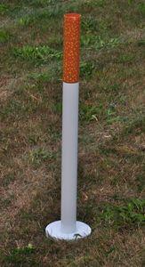 2x Standaschenbecher mit Standfuß Höhe: 72 cm