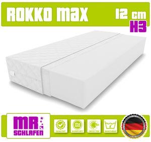 Matratze 120 x 200 ROKKO MAX 12 cm Kaltschaum Rollmatratze  H3 Bett Matratzen