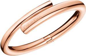 Calvin Klein Jewelry SCENT KJ5GPD1001 Damenarmreif Massiv gearbeitet, Armreifgröße:S (58x46mm/208mm)