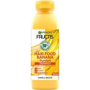 Garnier Fructis Hair Food Banana, Unisex, Nicht-professionell, Shampoo, trockenes Haar, 350 ml, Flasche