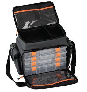 Savage Gear Lure Specialist Bag M Angeltasche inkl. 6 Angelboxen