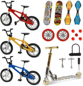18 Pcs Mini Finger Spielzeug Finger Skateboard Finger Fahrrad Roller Tiny Rocking Board Fingerskateboard Finger Fahrrad