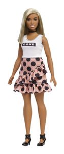 Barbie Fashionistas Puppe im Polka Dot Kleid
