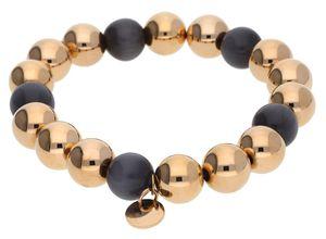 Esprit Damen Armband Edelstahl Rosegold/Grau ESBR11662D160