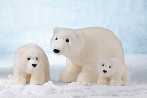 Schaffer Plüschtiere Eisbär Iluk 13 cm