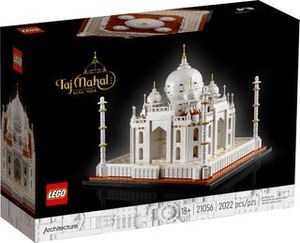 LEGO Architecture Taj Mahal, Bausatz, Junge/Mädchen, 18 Jahr(e), Kunststoff, 2022 Stück(e), 1,77 kg