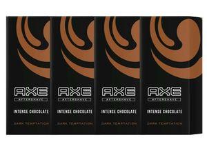 AXE Aftershave Dark Temptation 4x 100ml Rasierwasser Herren Männer Men After Shave Lotion Balsam Rasur