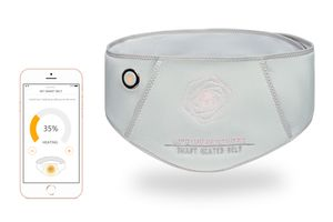 Vulpés Belly Belt - intelligenter beheizbarer Wärmegürtel mit Smartphonesteuerung und Graphentechnologie gegen Bauch- und Unterleibschmerzen (ohne Powerbank)