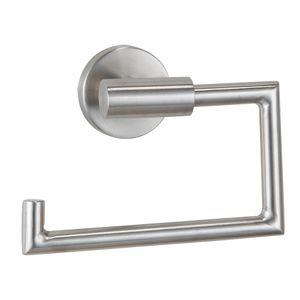 Papierrollenhalter, Edelstahl WC-Rollenhalter Klopapierhalter Badmöbel