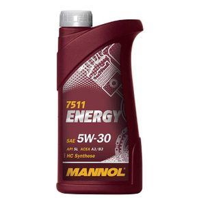 1 Liter MANNOL 5W-30 ENERGY Ford WSS-M2C913-B VW 502 00 VW 505 00 MB 229.3