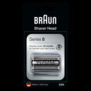 Braun Series 8 83M Elektrorasierer Ersatzscherteil – silber