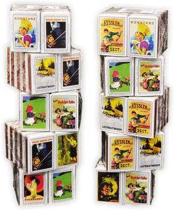 100 Schachteln Zündholzschachtel Zündhölzer Sicherheitszündhölzer 4000 Streichhölzer, 41mm