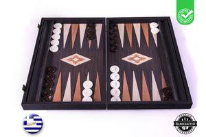 Backgammon Wenge-holz  - Luxus - 48x30cm - Mit Seitenschublade  Spitzenqualität