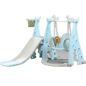 3 in 1 Kinderrutsche in einem Spielturm - Bestes Geschenk - Aktivitätszentrum für Drinnen und Draußen - Kinderleichte Montage