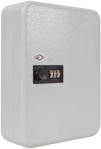 WEDO Schlüsselschrank mit mechanischem Zahlenschloss für 36 Schlüssel lichtgrau