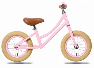 Rebel Kids Laufräder 2 Räder loopfiets Emma 12 Zoll Mädchen Rosa