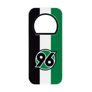 """Hannover 96 Flaschenöffner """"Logo"""" schwarz-weiss-grün"""