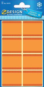 AVERY Zweckform ZDesign Tiefkühletiketten HOME blau