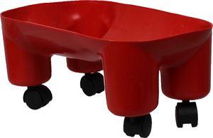 QHP Trolley für Jumpy Horse Rot