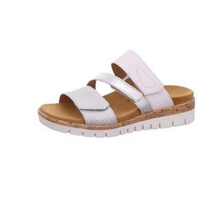 Gabor Shoes     weiss standa, Größe:41/2, Farbe:silber/weiss(kork) 1