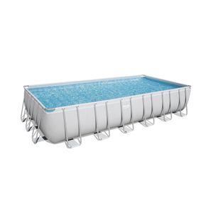 Bestway Power Steel™ Frame Pool Komplett-Set, eckig, 732x366x132cm, 56474