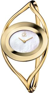 Calvin Klein Delight K1A2381G Damenarmbanduhr Swiss Made, Armspange:M (61x43mm)