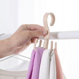 Gürtelhalter für Schrank, 360 Grad drehbarer Schal Krawattenhalter 4 Farben, handlich HGJ201117807RG