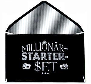 Depesche - Geldgeschenk-Klappkarte 'Millionär-Starter-Set'
