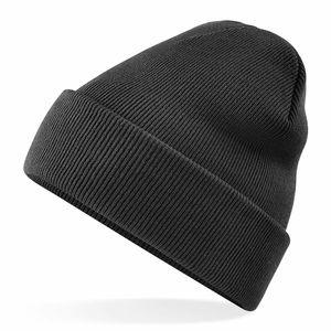 2x Wintermütze Mütze schwarz für Winter, Herrenmütze, Wollmütze Herren & Damen