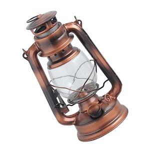 Vintage Petroleumlampe Campinglampe Campingleuchte Sturmlaterne mit Glaskolbe