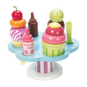 "Le Toy Van TV310 ""Carlo's Gelato"" Eis-Set für Kinderküche"