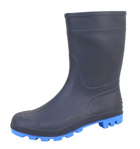 Bockstiegel Herren Gummistiefel Gr. 41-45 Regenstiefel Stiefel Stiefelette blau , Schuhgröße:EUR 42
